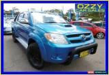 Classic 2006 Toyota Hilux KUN26R SR5 (4x4) Blue Manual 5sp M Dual Cab Pick-up for Sale