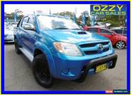 2006 Toyota Hilux KUN26R SR5 (4x4) Blue Manual 5sp M Dual Cab Pick-up for Sale