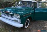 Classic 1959 Chevrolet Other Pickups 3200 for Sale