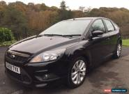 Black Ford Focus Zetec S 1.8 TDci Not ST for Sale