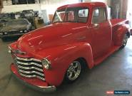 1952 Chevrolet Other Pickups custom for Sale