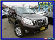 2010 Toyota Landcruiser Prado KDJ150R GXL (4x4) Maroon Automatic 5sp A Wagon for Sale