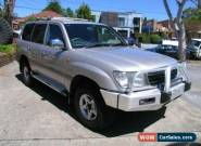 2001 Toyota Landcruiser FZJ105R GXL (4x4) Silver Automatic 4sp A Wagon for Sale
