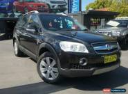 2008 Holden Captiva CG MY09 SX (FWD) Black Automatic 5sp A Wagon for Sale
