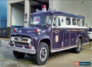 1955 Ford Other Fire Rescue Truck for Sale