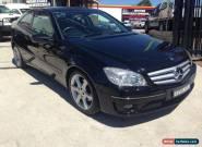 2009 Mercedes-Benz CLC 203 200 Kompressor Black Automatic 5sp A Coupe for Sale