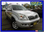 2005 Toyota Landcruiser Prado KZJ120R GXL (4x4) Silver Automatic 4sp A Wagon for Sale