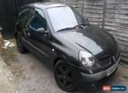 Renault Clio 1.5dci Billabong 3dr **Spares or Repair** for Sale