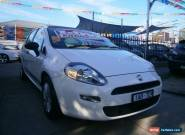 2013 Fiat Punto MY13 POP White Automatic 5sp A Hatchback for Sale