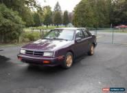 1989 Dodge Shadow ES Turbo for Sale