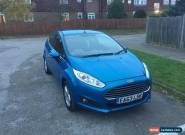 2013 FORD FIESTA ZETEC BLUE 3 door Petrol Manual for Sale