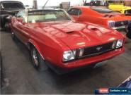 1973 Ford Mustang 2 Dr. Convertible for Sale