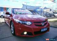2012 Honda Accord 10 MY12 Euro Red Automatic 5sp A Sedan for Sale