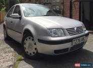 Volkswagen Bora 1.6 S Silver Saloon Long MOT for Sale