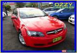 Classic 2008 Holden Commodore VE MY09 Omega Red Automatic 4sp A Sedan for Sale