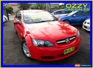 2008 Holden Commodore VE MY09 Omega Red Automatic 4sp A Sedan for Sale