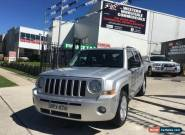 2010 Jeep Patriot MK MY09 Sport Silver Automatic 6sp A Wagon for Sale