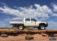 1998 Toyota Hilux Dual Cab Diesel 4WD Manual Ute 5L for Sale
