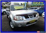2006 Nissan Navara D22 ST-R (4x4) Silver Manual 5sp M Dual Cab Pick-up for Sale