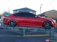 2010 Holden Commodore VE MY10 SV6 Red Automatic 6sp A Sedan for Sale