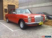 1976 Mercedes 240d w115 w114 for Sale