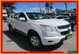 Classic 2013 Holden Colorado RG MY13 LX White Automatic A 4D CAB CHASSIS for Sale