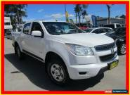 2013 Holden Colorado RG MY13 LX White Automatic A 4D CAB CHASSIS for Sale
