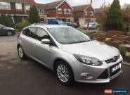 Silver Ford Focus Titanium 1.6 (2012) for Sale