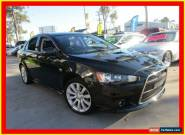 2010 Mitsubishi Lancer CJ MY10 Ralliart Black Automatic 6sp A Sedan for Sale