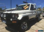 2004 Toyota Landcruiser FZJ79R (4x4) White Manual 5sp M for Sale