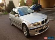 2001 BMW 318I SE SILVER for Sale