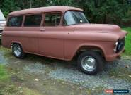 1955 Chevrolet Other Pickups 3100 suburban for Sale