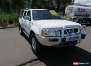 2006 Nissan Navara D22 S2 ST-R White Manual 5sp M 4D UTILITY for Sale