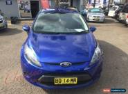 2011 Ford Fiesta WT CL Blue Automatic 6sp A Hatchback for Sale