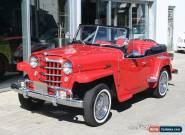 Willys : Jeepster Convertible for Sale
