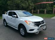 2013 Mazda BT-50 MY13 GT (4x4) Cool White Automatic 6sp A Dual Cab Utility for Sale