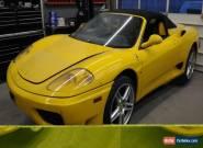 2002 Ferrari 360 Modena Spider for Sale