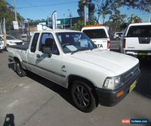 Classic 1995 Toyota Hilux RN90R DX White Automatic 4sp A Extracab for Sale