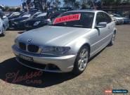 2003 BMW 325CI E46 M Sport Automatic 5sp A Coupe for Sale