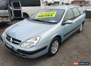 2003 Citroen C5 HDi Blue Automatic 4sp A Wagon for Sale