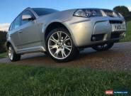 2006 BMW X3 SD 30 M SPORT AUTO SILVER for Sale