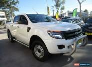 2013 Ford Ranger PX XL White Automatic A 4D UTILITY for Sale