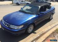 saab 9-3 auto 2.0 turbo convertible 1998 for Sale