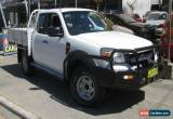 Classic 2011 Ford Ranger PK XL (4x4) White Manual 5sp M Super Cab Pick-up for Sale