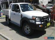 2011 Ford Ranger PK XL (4x4) White Manual 5sp M Super Cab Pick-up for Sale
