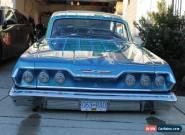 1963 Chevrolet Impala 2 door hard top for Sale