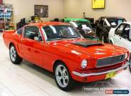 1965 Ford Mustang 289C.I. V8 FASTBACK Red Manual M for Sale