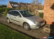 2002 Ford Focus 1.6 Zetec for Sale