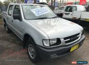 2001 Holden Rodeo TFR9 LX Silver Automatic 4sp A Crewcab for Sale