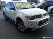 2011 Mitsubishi Triton MN MY12 GLX-R (4x4) White Automatic 5sp A for Sale